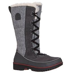Sorel Tivoli High II Womens Boots, Dark Grey-Red, 256