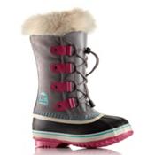 Sorel Youth Joan of Arctic Girls Boots, Light Grey, medium