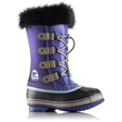 Sorel Youth Joan of Arctic Girls Boots, Purple Lotus-Sky Blue, medium