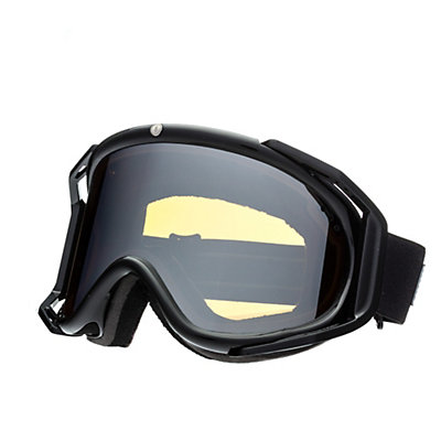 Electric Rig Goggles, Gloss Black-Bronze Silver Chrome + Bonus Lens, viewer
