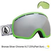 Electric EG2 Goggles, V. Co Lab-Bronze Silver Chrome + Bonus Lens, medium