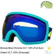 Electric EG2.5 Goggles, Beach-Bronze Blue Chrome + Bonus Lens, medium
