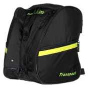 Transpack TRV Pro Ski Boot Bag, Black-Yellow Electric, medium