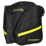 Transpack Compact Pro Ski Boot Bag 2016, Black-Yellow Electric, medium