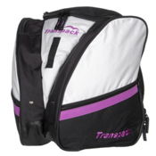Transpack Compact Pro Ski Boot Bag, White-Purple Electric, medium