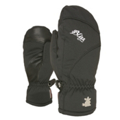 Level Mummies Womens Mittens, Black, medium