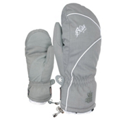 Level Mummies Womens Mittens, Grey, medium