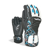 Level Worldcup CF JR Ski Racing Gloves, Royal, medium