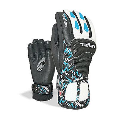 Level Worldcup CF Junior Ski Racing Gloves, Black, viewer