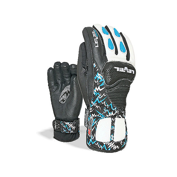 Level Worldcup CF Junior Ski Racing Gloves, Royal, 600
