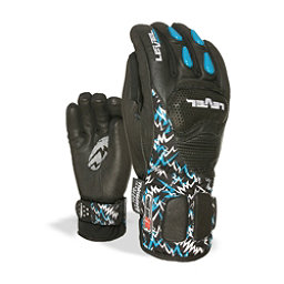 Level Worldcup CF Junior Ski Racing Gloves, Black, 256