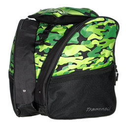 Transpack XT1 Ski Boot Bag, Green Camo, 256