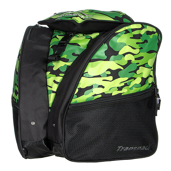 Transpack XT1 Ski Boot Bag, Green Camo, 600