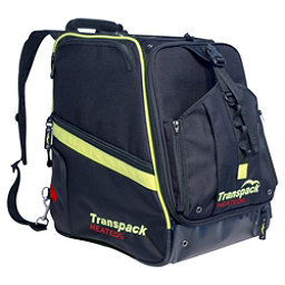 Transpack Heated Boot Pro Ski Boot Bag 2018, Black-Yellow Electric, 256