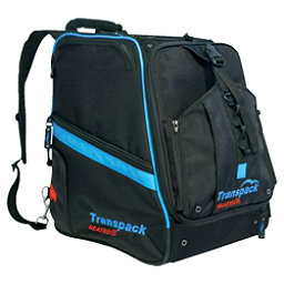 Transpack Heated Boot Pro Ski Boot Bag 2018, Black-Blue Electric, 256