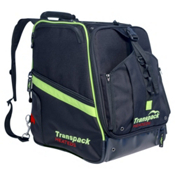 Transpack Heated Boot Pro Ski Boot Bag 2018, Black-Lime Electric, medium