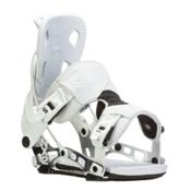 Flow NX2 Snowboard Bindings, White, medium