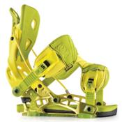 Flow NX2 Snowboard Bindings, Lime, medium