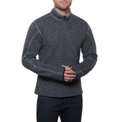 KUHL Thor 1/4 Zip Mens Sweater, Graphite, medium