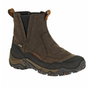 Merrell Polarand Rove Pull Waterproof Mens Boots, Black Slate, medium