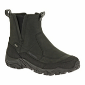 Merrell Polarand Rove Pull Waterproof Mens Boots, Black, medium