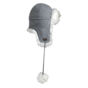 Turtle Fur Maggie Womens Hat, Silver, medium