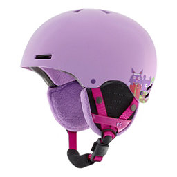 Anon Rime Kids Helmet 2017, Wildlife Purple, 256