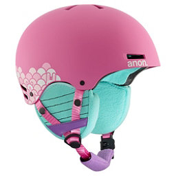 Anon Rime Kids Helmet 2018, Animal Trax Pink, 256