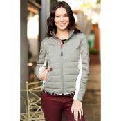 Alp-n-Rock Cross Down Womens Jacket, Grey, medium