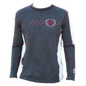 Alp-n-Rock Mountain Pass Mens Shirt, Heather Black, medium