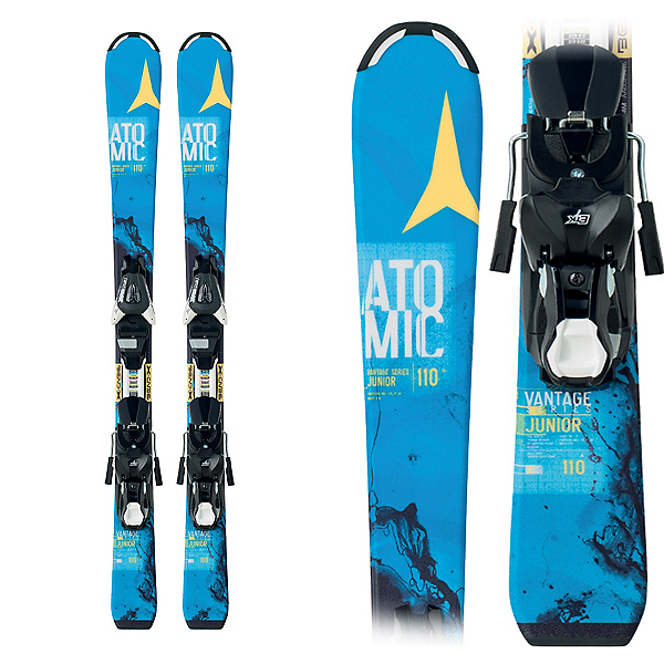 Atomic Vantage Jr. II Kids Skis with Ezy 5 Bindings, , 600