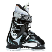 Atomic Live Fit 60 W Womens Ski Boots, Black-White, medium
