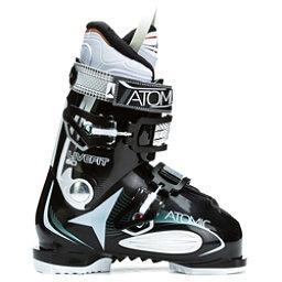 Atomic Live Fit 60 W Womens Ski Boots, Black-White, 256
