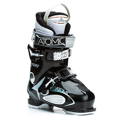 Atomic Live Fit 60 W Womens Ski Boots, Black-White, viewer