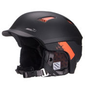 Salomon Prophet Custom Air Helmet 2016, Black Mat-Orange, medium