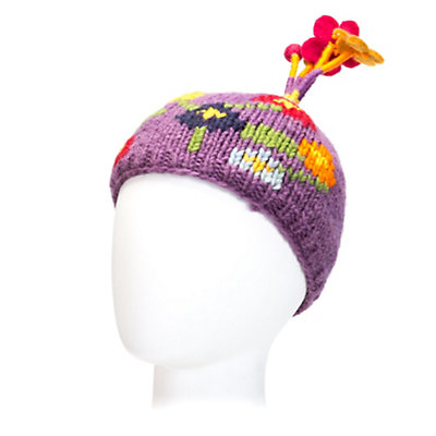 Turtle Fur  Kids Hat, Lavender, viewer