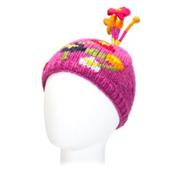 Turtle Fur  Kids Hat, Fuchsia, medium