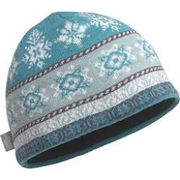 Turtle Fur Crystal Persuasion Wool Beanie, Sea Glass, 256