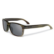Oakley Holbrook LX Polarized Sunglasses, Banded Green-Grey Polarized, medium