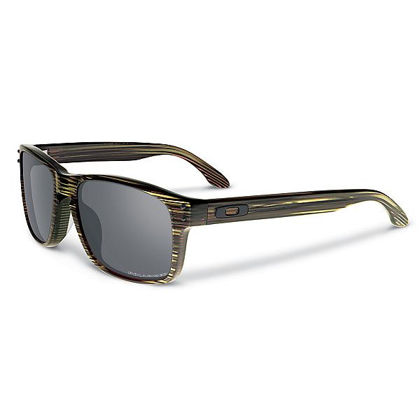 Oakley Holbrook LX Polarized Sunglasses, Banded Green-Grey Polarized, 600