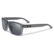 Oakley Holbrook LX Polarized Sunglasses, Satin Smoke-Black Iridium Pola, medium