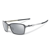 Oakley Tincan Polarized Sunglasses, Carbon-Chrome Iridium Polarized, medium