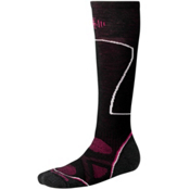 SmartWool PhD Ski Medium Womens Ski Socks, Black, medium