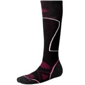 SmartWool PhD Ski Medium Womens Ski Socks, Black, medium