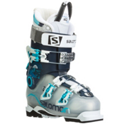 Salomon Quest Pro 80 W Womens Ski Boots, Crystal Translucent-Dark Blue, medium