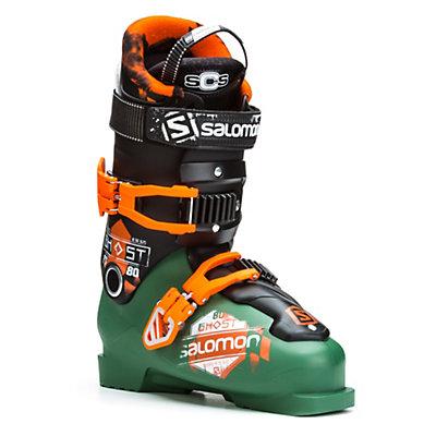 Salomon Ghost FS 80 Ski Boots, Dark Green-Black, viewer