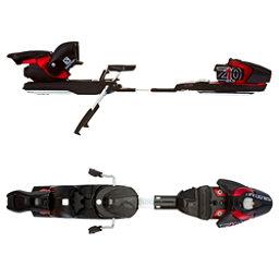 Salomon Z10 Ski Bindings, Black-Red, 256