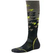 SmartWool PhD Light Pattern Snowboard Socks, Taupe, medium