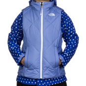 The North Face Vestamatic Triclimate Girls Ski Jacket, Vibrant Blue-TNF White, medium