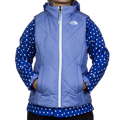 The North Face Vestamatic Triclimate Girls Ski Jacket, TNF Black-TNF White Dot, viewer